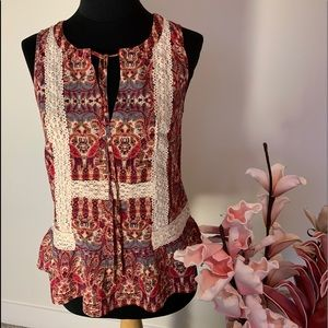 Forever 21  Bohiema style top size XS